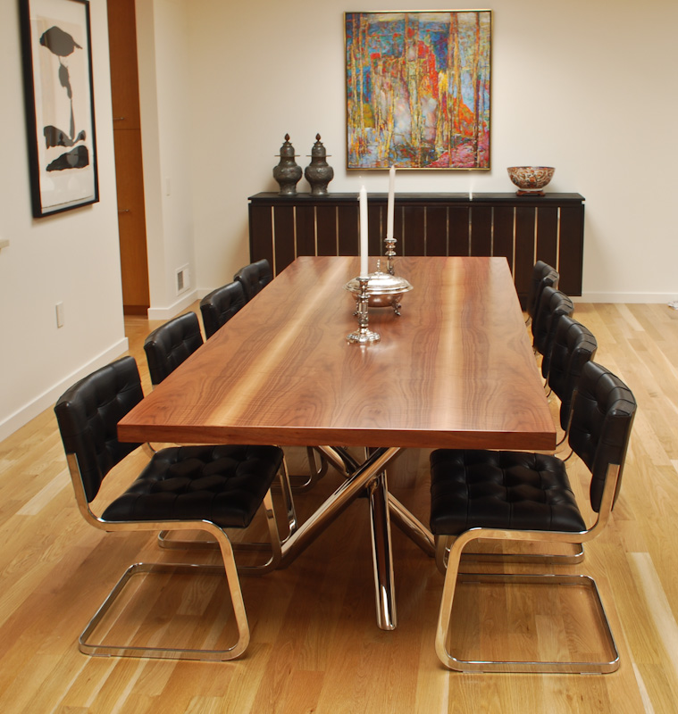 Marcus Studio B And A S Walnut Dining Table